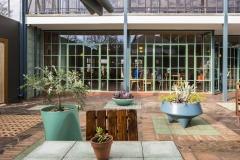 BReezeblock courtyard