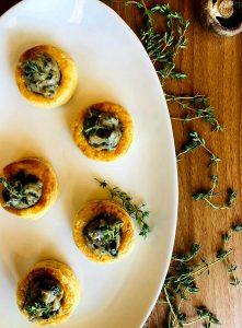 Creamy Mushroom and Thyme Bouchees